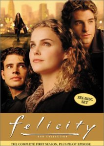 Felicity - season 1 DVD cover art